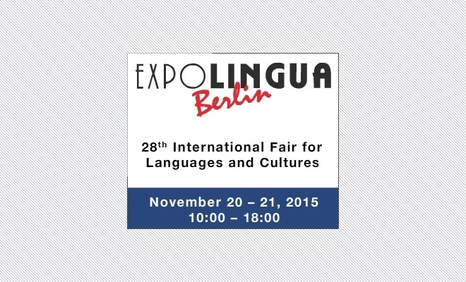 EXPOLINGUA Berlin 2015: Salon international des Langues et des Cultures