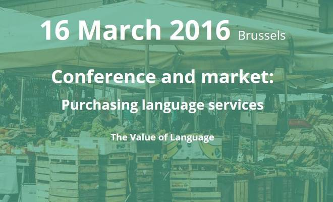 "Conférence ""The Value of Language"""