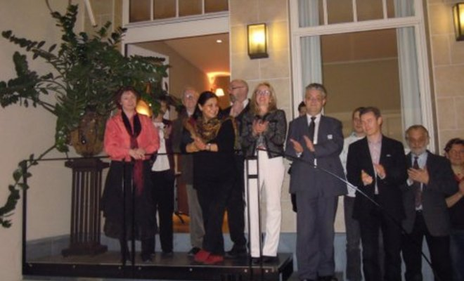 Visite d'information à la Commission européenne et réception de Nouvel-An de la CBTIP