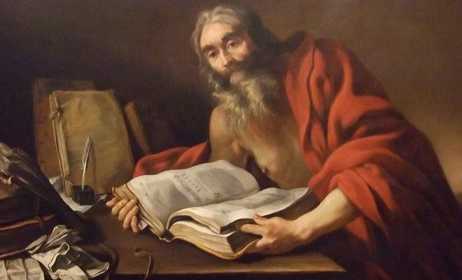 Sint-Hiëronymus en bezoek aan de VRT