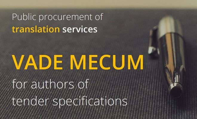 Public procurement and specifications: translators send their recommendations to the authorities