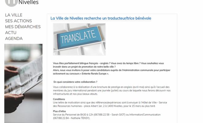 Le métier de traducteur ne s'improvise pas