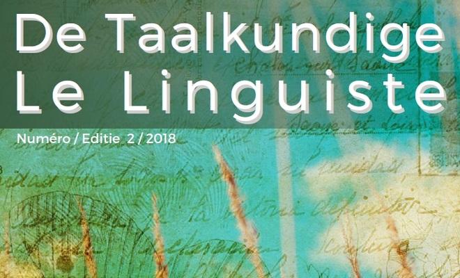 De Taalkundige / Le Linguiste 2018-2
