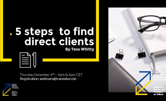 Webinar: 5 Steps to Find Direct Clients
