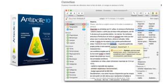 Atelier: logiciel de correction grammaticale et d'aide à la rédaction Antidote 10