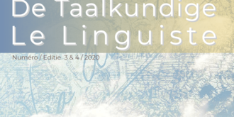 De Taalkundige / Le Linguiste 2020-3-4
