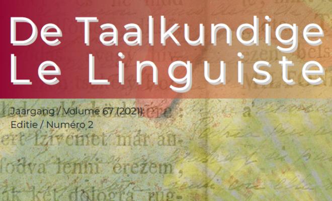 De Taalkundige / Le Linguiste 2021-2